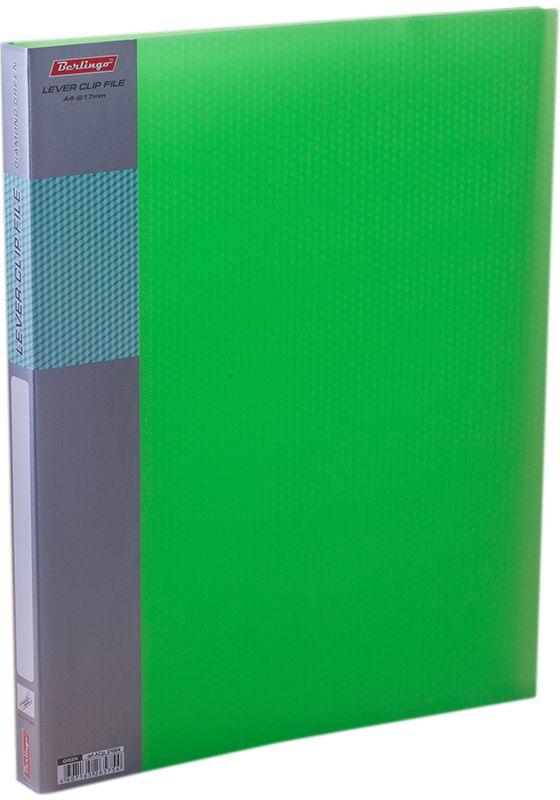 Berlingo Папка с зажимом Diamond цвет зеленый