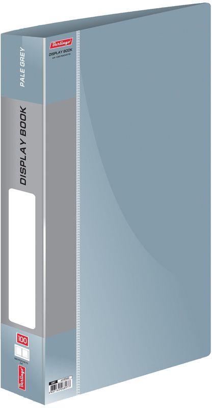 Berlingo Папка Standard со 100 вкладышами цвет серыйMT2452Функциональная папка «Standard» с прозрачными вкладышами удобна для хранения и демонстрации документов А4. На папках предусмотрена сменная этикетка на корешке для маркировки. Изготовлены из фактурного полупрозрачного пластика. Индивидуальная упаковка в пакет. Изготовлена из плотного пластика (толщина - 0,8 мм). Ширина корешка - 30 мм.