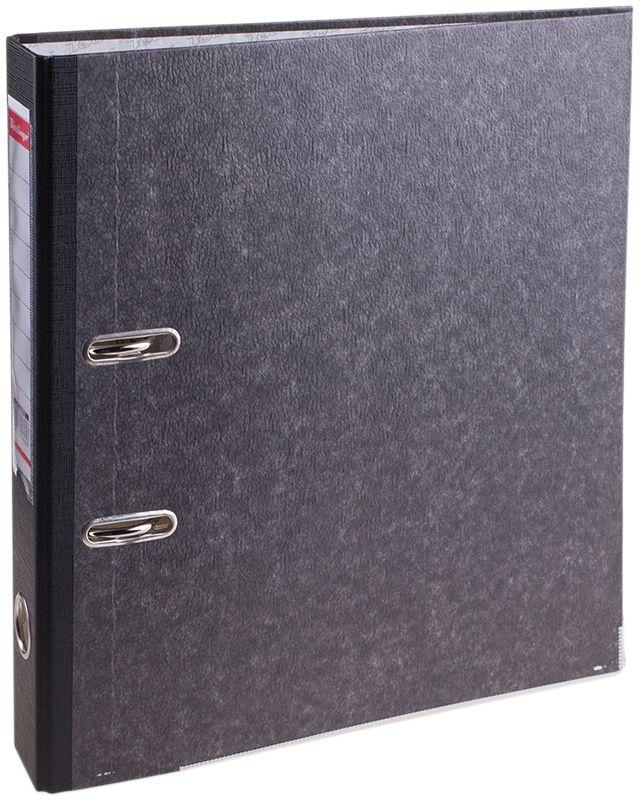 Berlingo Папка-регистратор цвет мраморный черныйAM4810Обложка из жесткого износостойкого картона с односторонним покрытием из бумвинила. Конструкция разработана с учетом всех особенностей эксплуатации. Выгодно отличаются надежным арочным механизмом из качественного металла, наличием кармана на корешке со сменным информационным ярлыком для маркировки, полем для записей на внутренней стороне обложки, отверстием для удобного снятия папки с полки. Цвета в ассортименте.