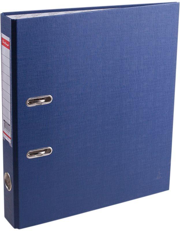 Berlingo Папка-регистратор цвет синийAM4613Обложка из жесткого износостойкого картона с односторонним покрытием из бумвинила. Конструкция разработана с учетом всех особенностей эксплуатации. Выгодно отличаются надежным арочным механизмом из качественного металла, наличием кармана на корешке со сменным информационным ярлыком для маркировки, полем для записей на внутренней стороне обложки, отверстием для удобного снятия папки с полки. Цвета в ассортименте.
