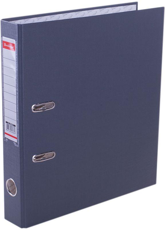 Berlingo Папка-регистратор цвет серыйAM4614Обложка из жесткого износостойкого картона с односторонним покрытием из бумвинила. Конструкция разработана с учетом всех особенностей эксплуатации. Выгодно отличаются надежным арочным механизмом из качественного металла, наличием кармана на корешке со сменным информационным ярлыком для маркировки, полем для записей на внутренней стороне обложки, отверстием для удобного снятия папки с полки. Цвета в ассортименте.