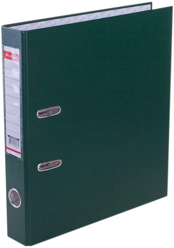 Berlingo Папка-регистратор цвет зеленыйAM4616Обложка из жесткого износостойкого картона с односторонним покрытием из бумвинила. Конструкция разработана с учетом всех особенностей эксплуатации. Выгодно отличаются надежным арочным механизмом из качественного металла, наличием кармана на корешке со сменным информационным ярлыком для маркировки, полем для записей на внутренней стороне обложки, отверстием для удобного снятия папки с полки. Цвета в ассортименте.
