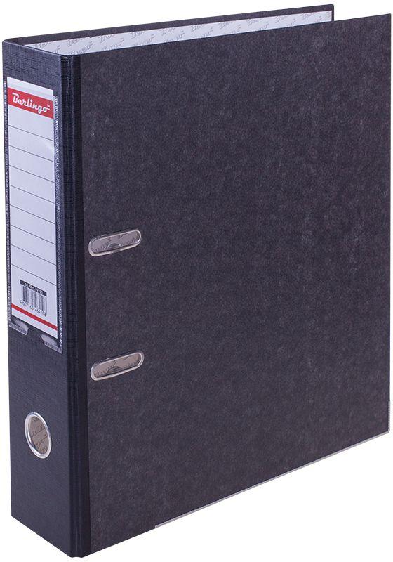 Berlingo Папка-регистратор цвет мраморный черный ATm_79101ATm_79101