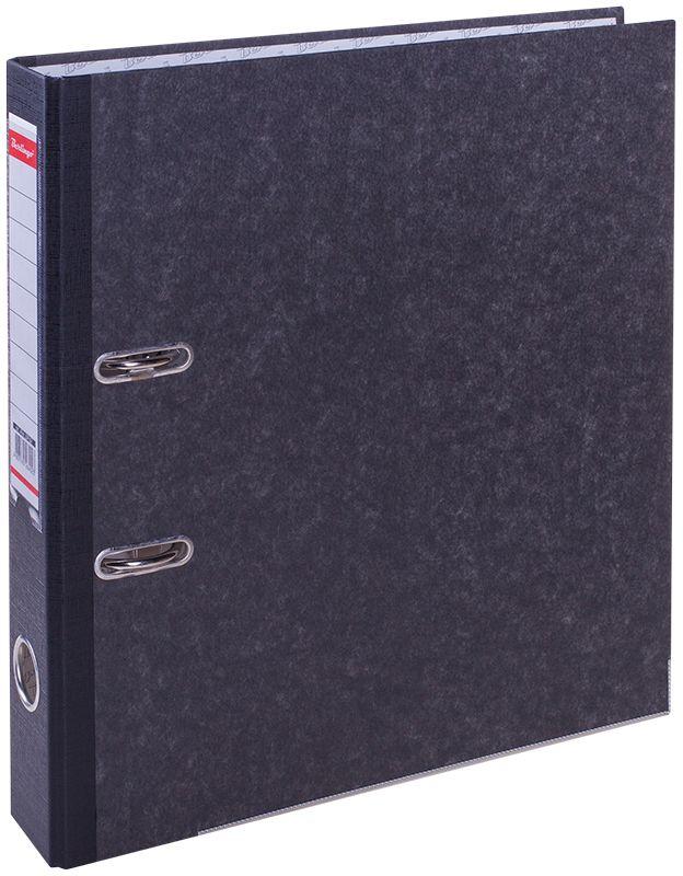 Berlingo Папка-регистратор цвет мраморныйATm_59101Пaпка-регистратор с арочным механизмом из жесткого износостойкого картона с покрытием из специальной ламинированной бумаги. На папках предусмотрен карман на корешке со сменным информационным ярлыком для маркировки, полем для записей на внутренней стороне обложки, отверстием для удобного снятия с полки. Нижние грани укреплены металлическим кантом.