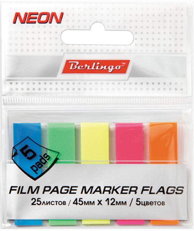 Berlingo Блок-закладка с липким слоем 1,2 х 4,5 см 20 листов Lsz_45121