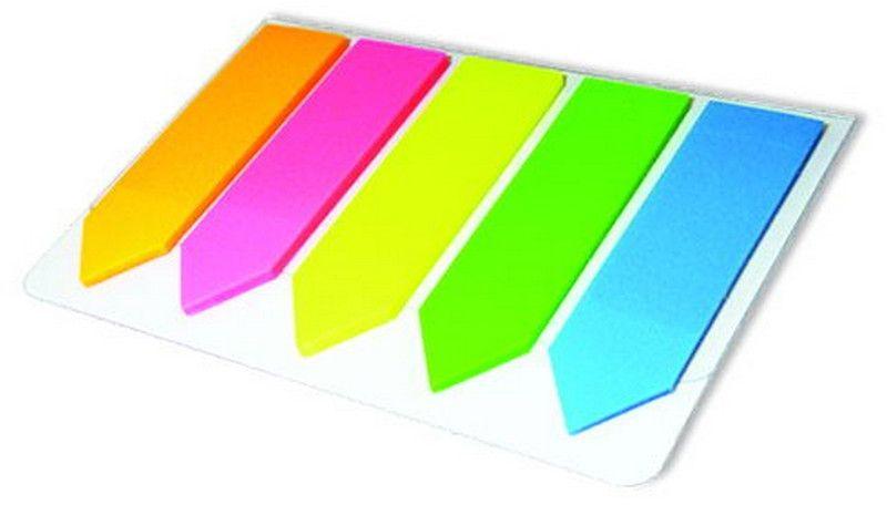 Berlingo Бумага для заметок 20 листовLSz_44101Самоклеящиеся пластиковые полупрозрачные флажки-закладки ярких неоновых цветов. Подходят для крепления на любой поверхности. Легко отклеиваются, не оставляя следов. 5 цветов, размер 44 х 12 мм. В блоке 20 листов.