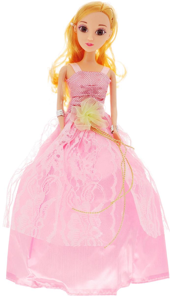 Veld-Co Кукла Benigh Girl Принцесса цвет платья розовый