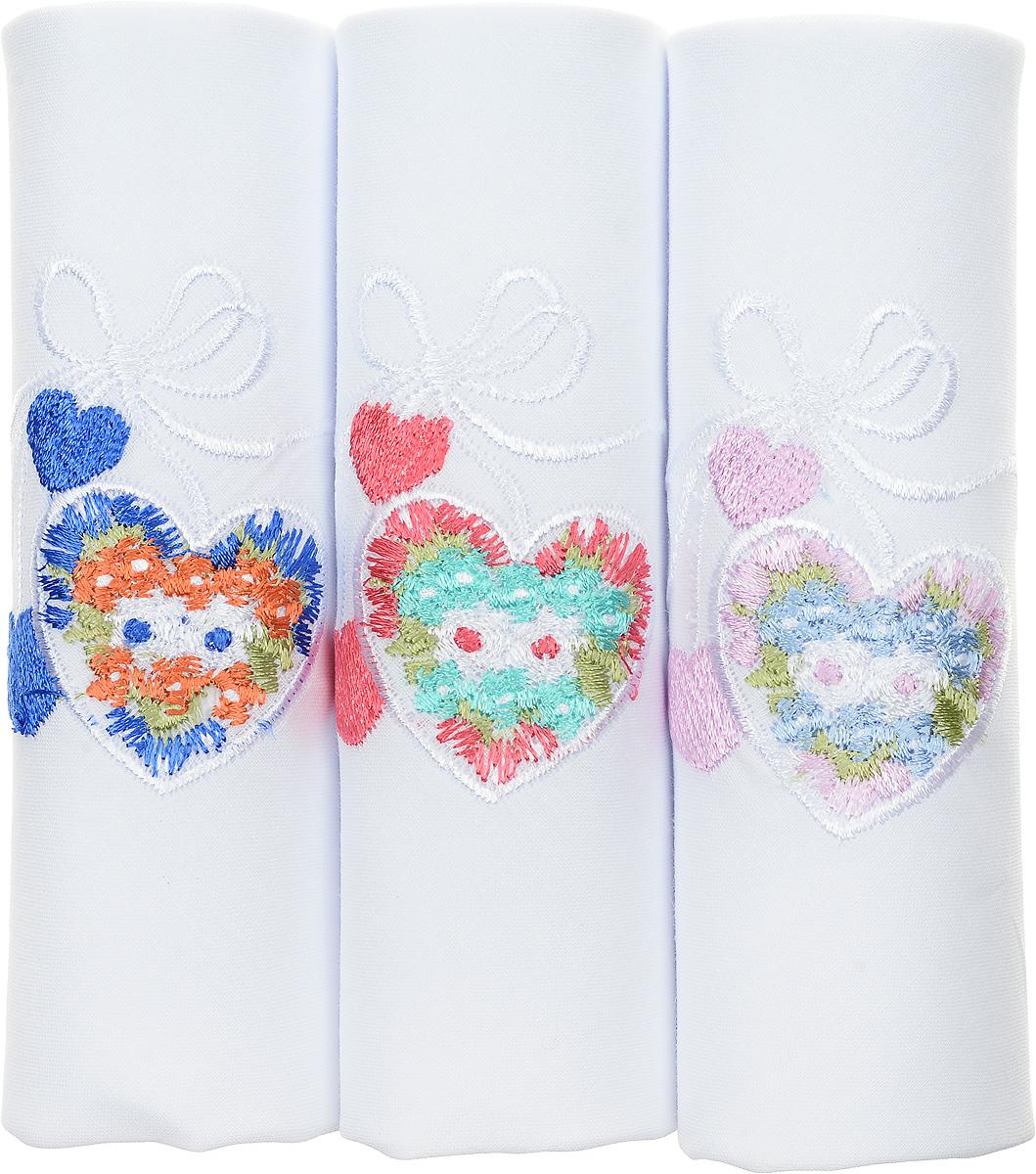 Платок носовой женский Zlata Korunka, цвет: белый, мультиколор, 3 шт. 40320-2. Размер 43 см х 43 см40320-2Оригинальный женский носовой платок Zlata Korunka изготовлен из высококачественного натурального хлопка, благодаря чему приятен в использовании, хорошо стирается, не садится и отлично впитывает влагу. Практичный и изящный носовой платок будет незаменим в повседневной жизни любого современного человека. Такой платок послужит стильным аксессуаром и подчеркнет ваше превосходное чувство вкуса.