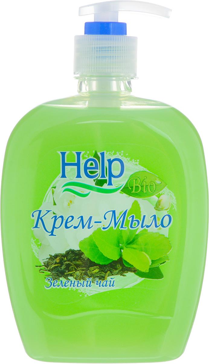 Жидкое мыло Help Зеленый чай, с дозатором, 500 г4605845001401Мыло Help Зеленый чай мягко очищает, увлажняет, придает мягкость коже рук. Специальные компоненты дополнительно питают кожу рук во время мытья. Мыло обладает гипоаллергенной парфюмерной композицией с ярким ароматом и пышной пеной. Товар сертифицирован. Уважаемые клиенты! Обращаем ваше внимание на возможные изменения в дизайне упаковки. Качественные характеристики товара остаются неизменными. Поставка осуществляется в зависимости от наличия на складе.