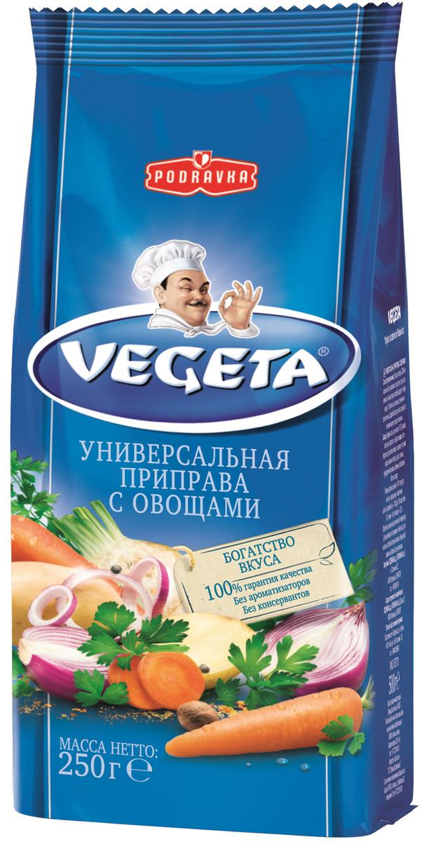 Vegeta универсальная приправа с овощами, 250 г3110007Vegeta - надежный спутник ваших кулинарных приключений уже более 50 лет. Приправа Vegeta продолжает оставаться одним из самых известных хорватских продуктов, без которого практически невозможно представить себе приготовление пищи. Область применения этой комбинации сушеных овощей и специй не ограничена: это и овощи, и мясо, и гарниры, и все, что угодно на гриле, и минималистские блюда, и блюда из сложных деликатесов - одной чайной ложки приправы Vegeta всегда достаточно, чтобы почувствовать тонкую разницу. Поэтому, готовя еду, дайте свободу своей фантазии и наслаждайтесь - еще много новых комбинаций приправы Vegeta ждет встречи с вами! Уважаемые клиенты! Обращаем ваше внимание, что полный перечень состава продукта представлен на дополнительном изображении.