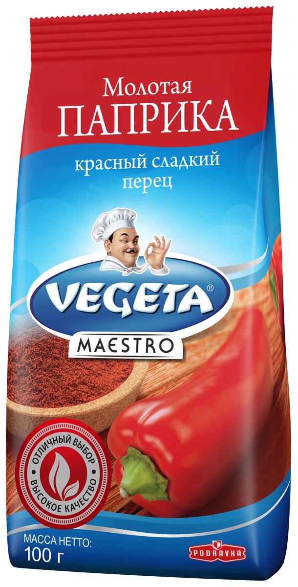 Podravka Паприка молотая сладкая, 100 г291001Красный сладкий перец от Podravka, смолотый в порошок с почти шелковой текстурой, с легкостью найдет себе место в любом блюде. Нет такого овощного блюда, гуляша, мяса, блюда из риса, соуса или блюда с творогом или сыром, чей вкус можно назвать полным, если в него не добавлена эта супер-пряность. Кроме приятного сладковатого аромата, столь же важен и узнаваем ярко красный цвет этого продукта, которым он обогащает все блюда: рядом с ним все другие специи и пряности краснеют от зависти! 100% натуральный продукт. Уважаемые клиенты! Обращаем ваше внимание на то, что упаковка может иметь несколько видов дизайна. Поставка осуществляется в зависимости от наличия на складе.