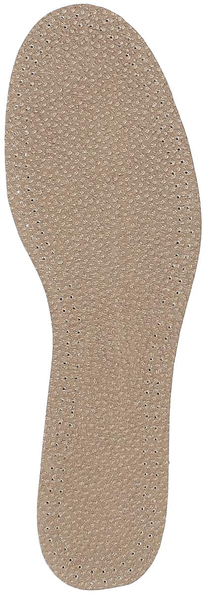 Стелька OmaKing, с содержанием активированного угля, цвет: коричневый, 2 шт. T440-37. Размер 36/37T-440-37Кожаные стельки изготовлены из эластичной свиной кожи на подкладке из латекса с содержанием активированного угля, который помогает предотвратить запах, впитывает влагу и создает благоприятный микроклимат для ног. Стельки добавляют комфорт и обеспечивают защиту для вашей обуви.