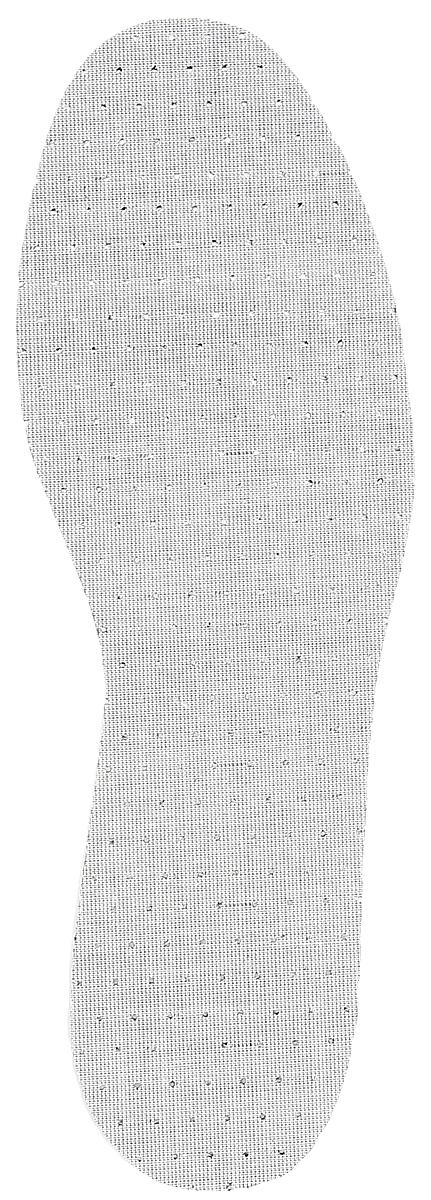 Стелька, OmaKing ароматизированная против пота, 38/39T-111-39Влагопоглощающие стельки из перфорированного латекса с пропитокой из активированного угля. Активированный уголь впитывает влагу и нейтрализует запах пота.