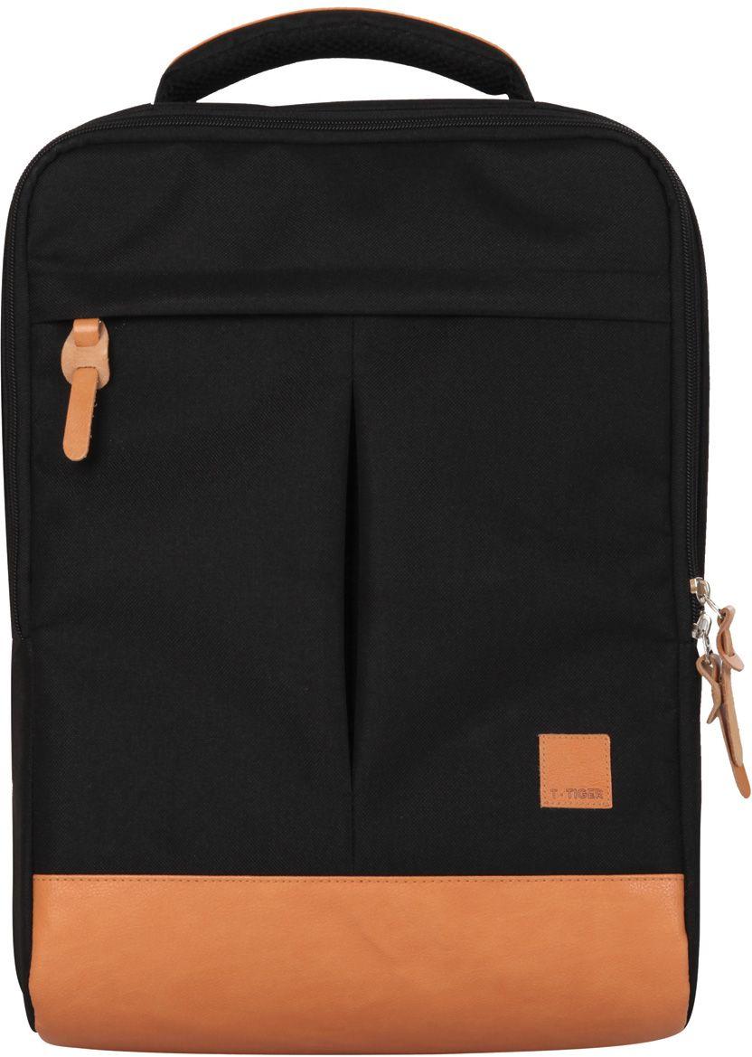 Tiger Family Рюкзак городской Cube81107/B/TGРюкзак Cube, размер 43x29х14 см, анатомическая вентилируемая спинка, отделение для ноута, объем 17 литров, черный. Стиль-унисекс Оригинальный городской рюкзак - сочетание практичности, удобства и безупречного стиля в любой ситуации Уплотненный внутренний карман с защитным ремешком надежно защитит ваш ноутбук или планшет. Анатомически правильная вентилируемая спинка обеспечит удобство и комфорт даже при длительном ношении.