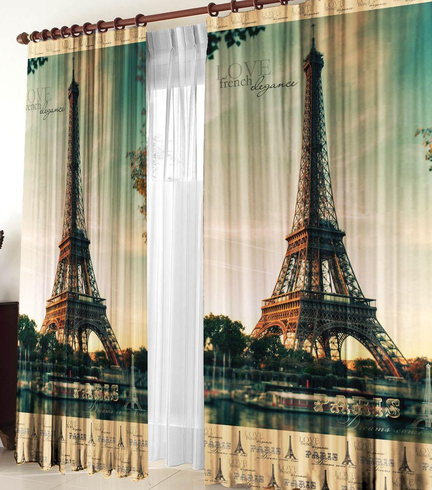 Комплект фотоштор Zlata Korunka Париж, высота 270 см2137821378 Комплект штор Париж, габардин (100% полиэстер) Фотошторы - для производства используется габардиновая ткань высочайшего качества. Фотошторы способны не пропускать самый яркий свет, их можно гладить и стирать. Уход: Бережная стирка при 30 градусах, деликатный отжим, отбеливание запрещено, гладить при t не более 150С. Светопоглощение 70%. Плотность ткани - 150 г/м2. Размер: (ширина 150 х высота 270) х 2 шт +/- 3 см. Оттенок изделия может отличаться от представленного на сайте в силу особенностей цветопередачи фототехники и Вашего монитора.