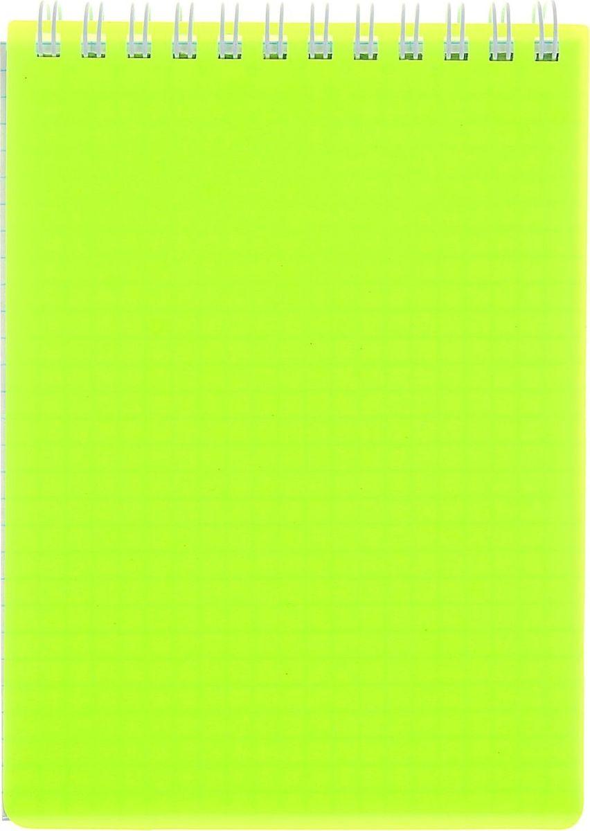 Hatber Блокнот Diamond Neon 80 листов цвет желтый 10208171020817