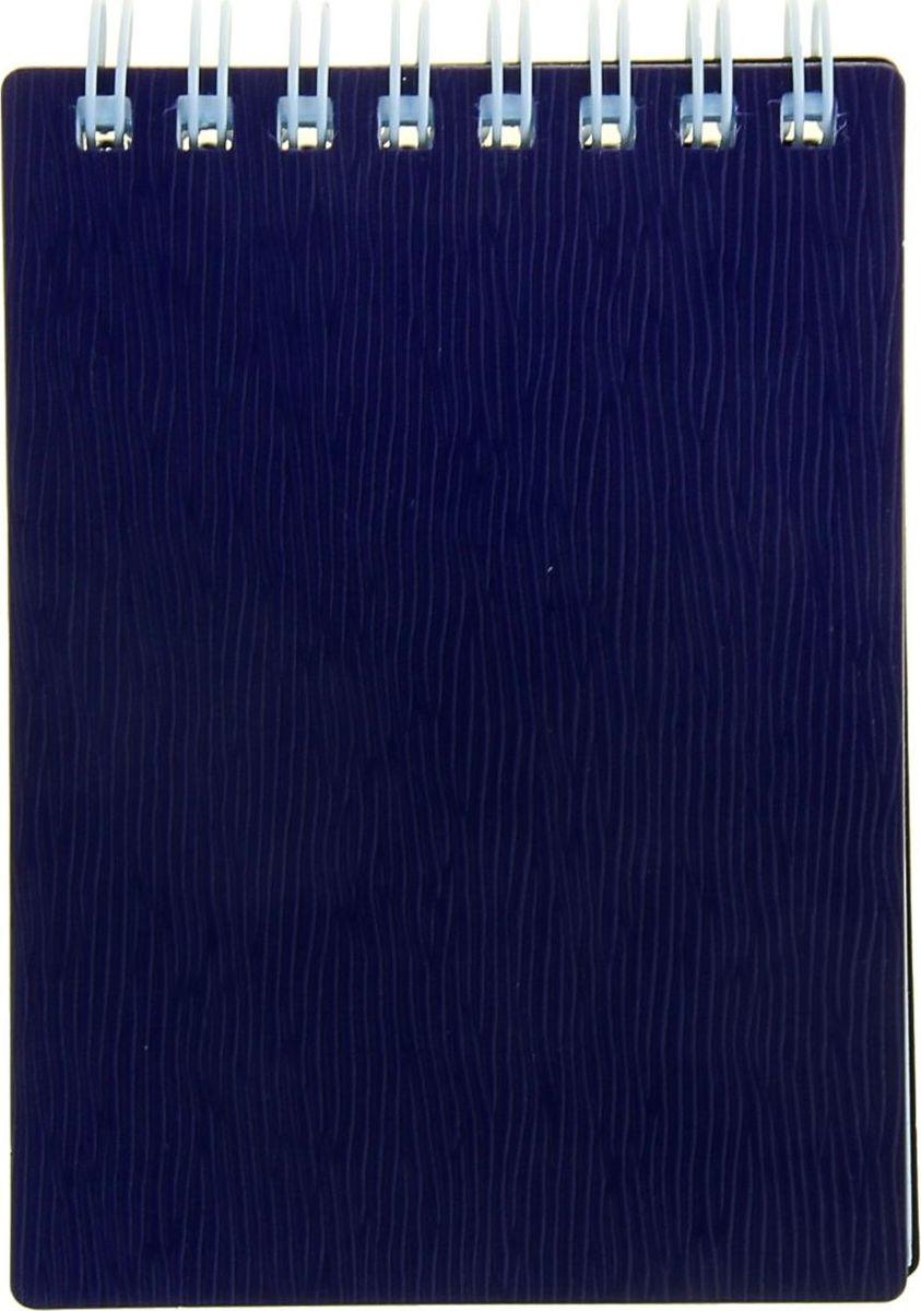 Hatber Блокнот Wood 80 листов цвет фиолетовый 1139158