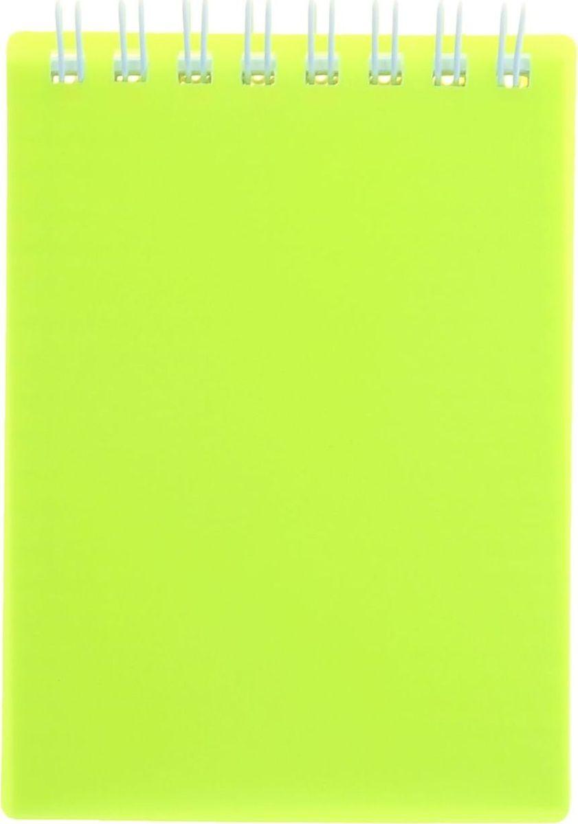 Hatber Блокнот Diamond Neon 80 листов цвет желтый 1139159