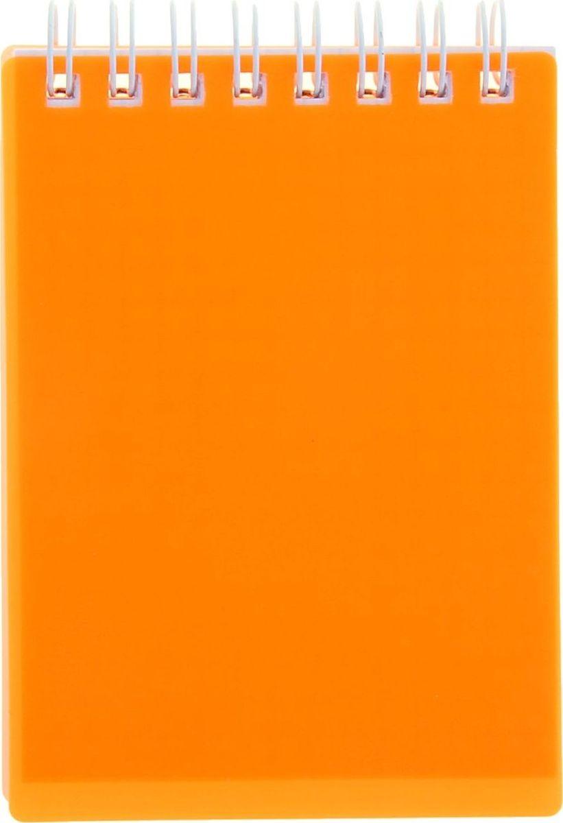 Hatber Блокнот Diamond Neon 80 листов цвет оранжевый 11391621139162