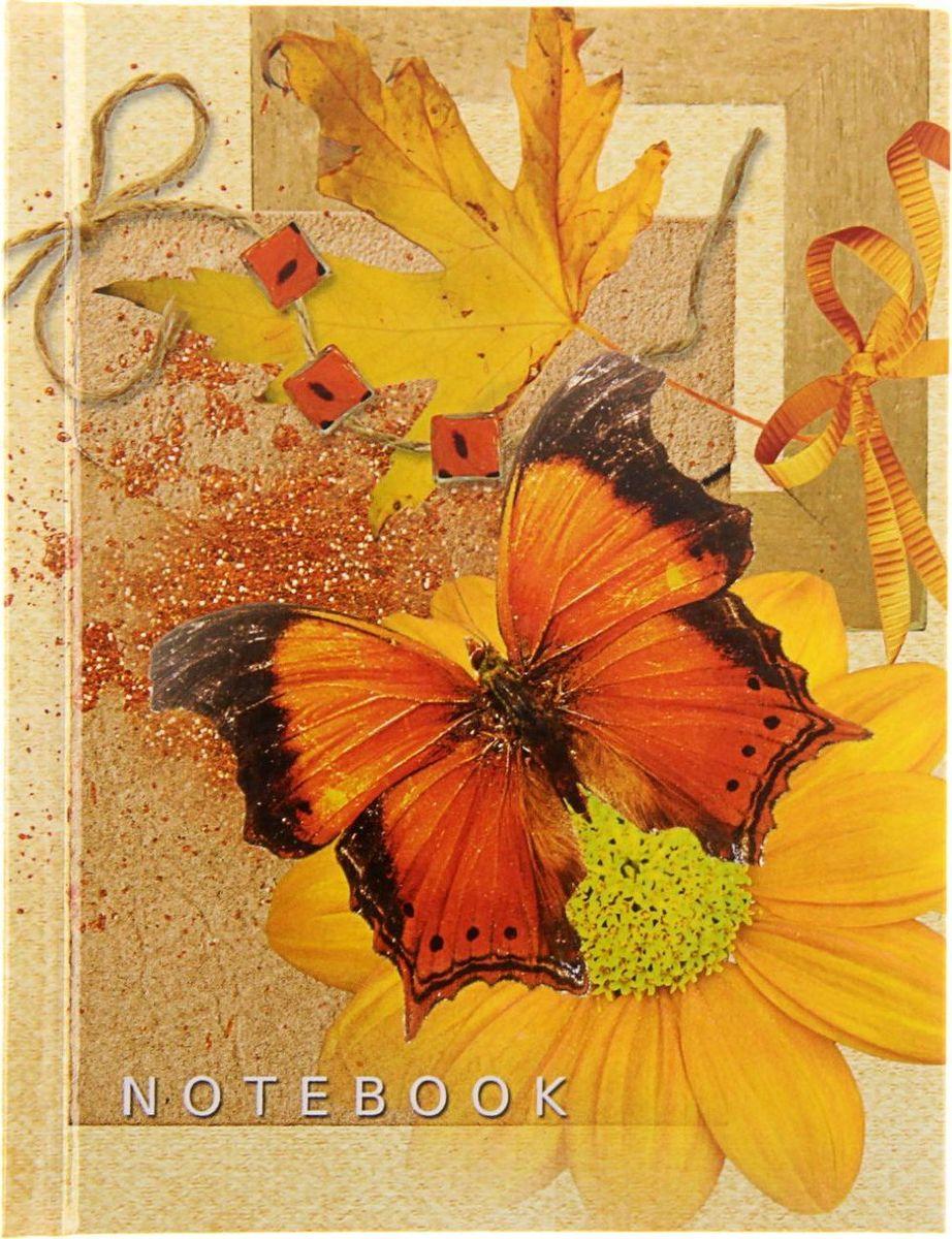 Бриз Блокнот Бабочки 80 листов1224418