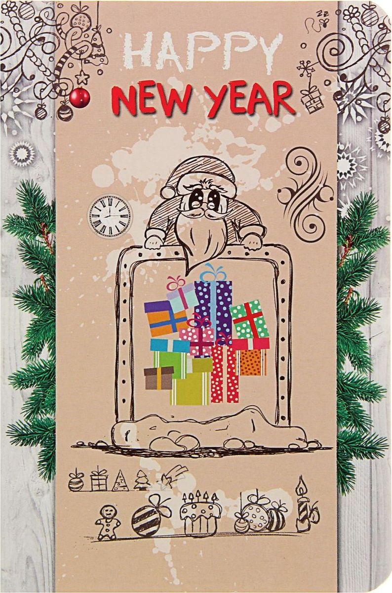 Проф-Пресс Блокнот С новым годом Подарки 96 листов1776291