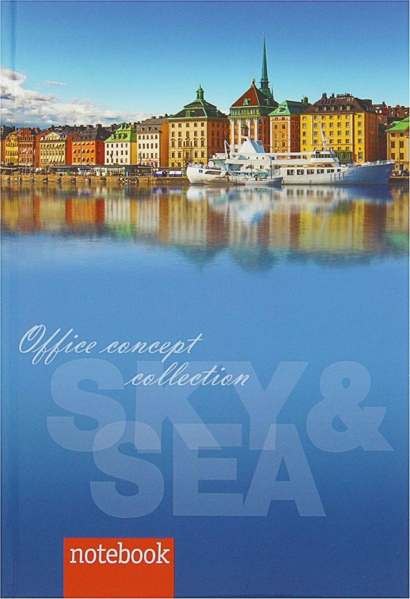 Бриз Бизнес-блокнот Sky & Sea 80 листов1818416