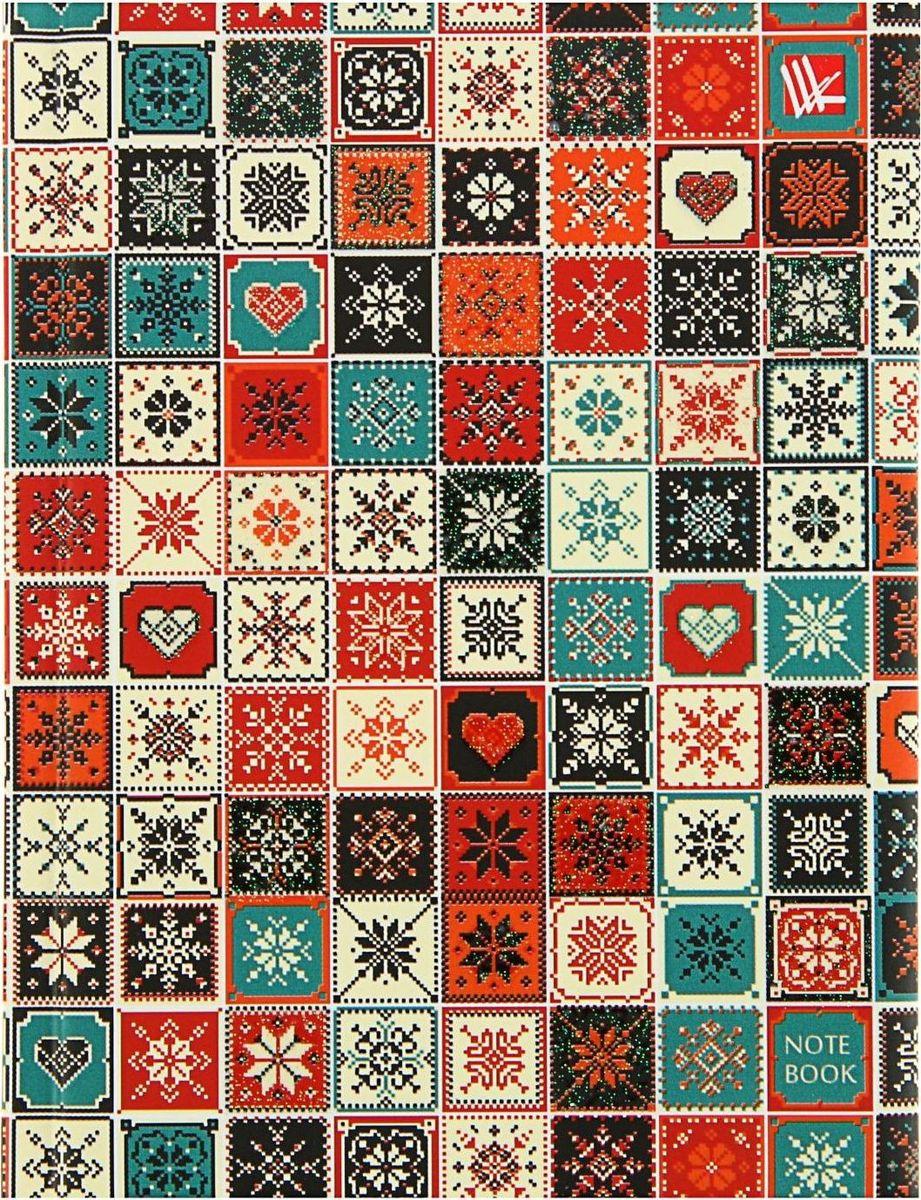 Эксмо Бизнес-блокнот Милая мозаика 80 листов1820514