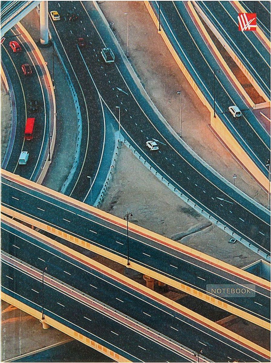 Эксмо Бизнес-блокнот Городской стиль Автомагистраль 64 листа1820529
