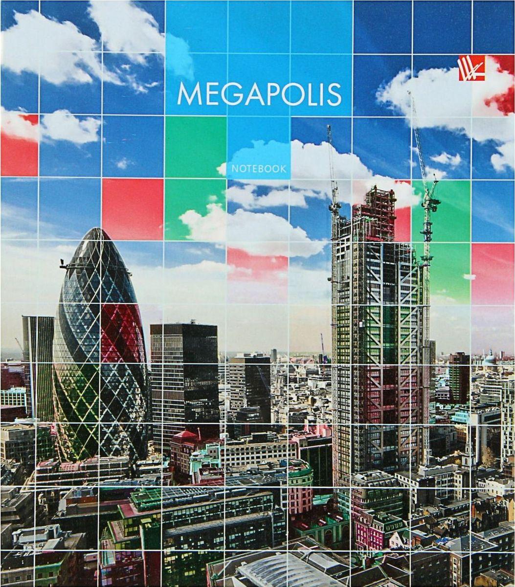 Эксмо Бизнес-блокнот Городской стиль Мегаполис 120 листов1820546