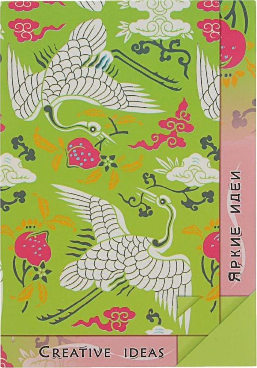 Лилия Холдинг Блокнот Creative Ideas 20 листов цвет зеленый розовый2070569
