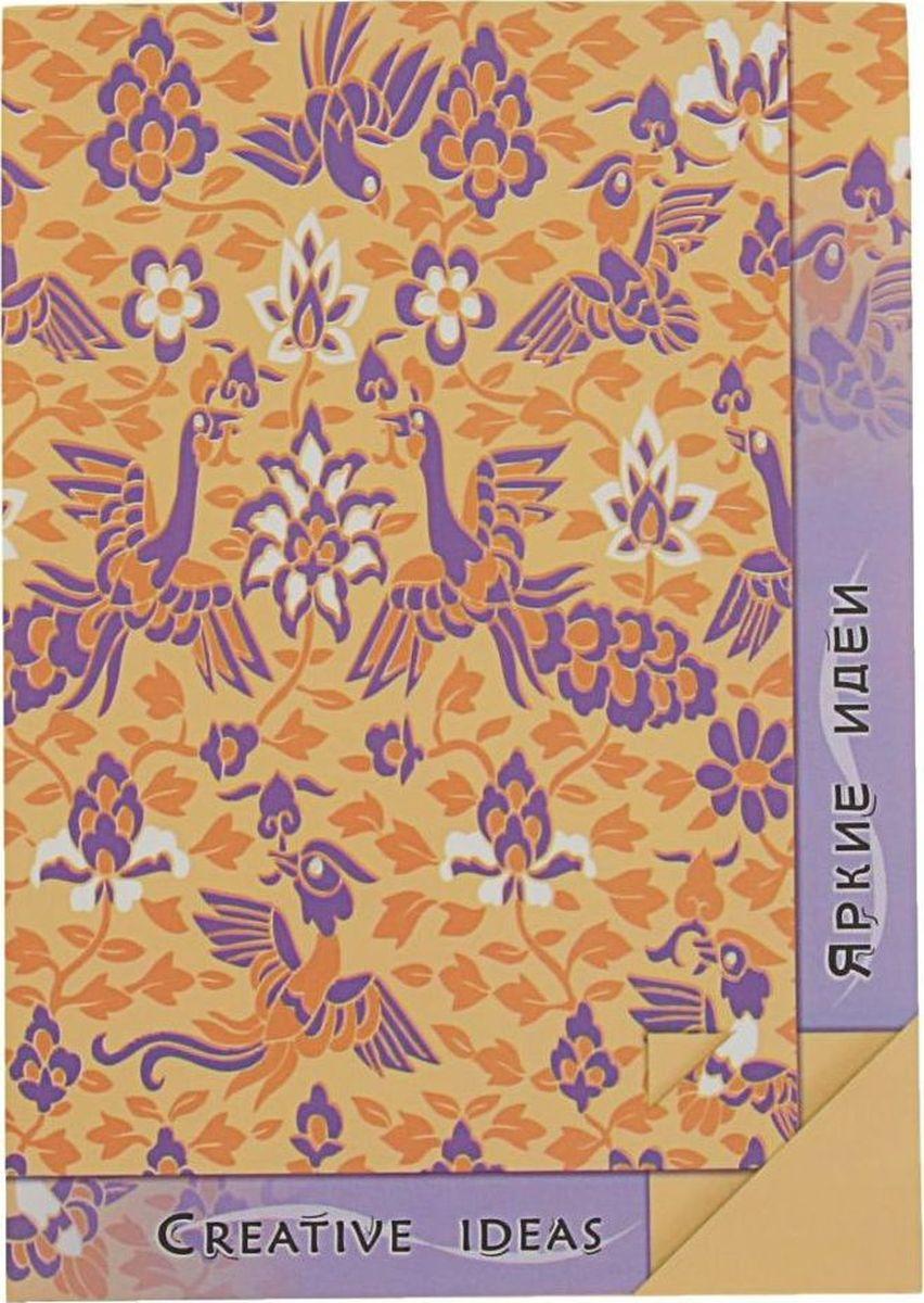 Лилия Холдинг Блокнот Creative Ideas 20 листов цвет бежевый сиреневый2070571