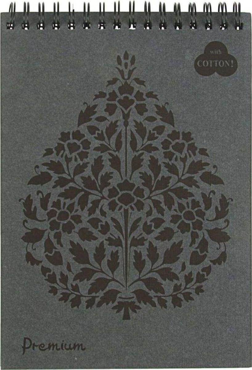 Лилия Холдинг Блокнот Premium 30 листов цвет графит2070577