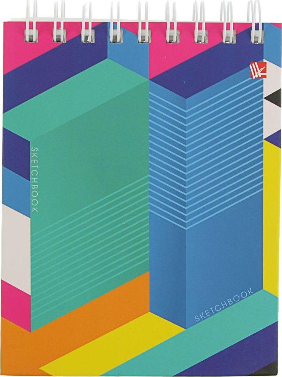 Эксмо Скетчбук Яркая геометрия 80 листов2174057