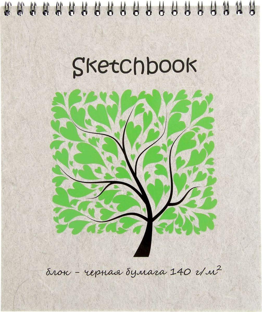 Полином Бумага для эскизов Sketchbook Black 20 листов2333514