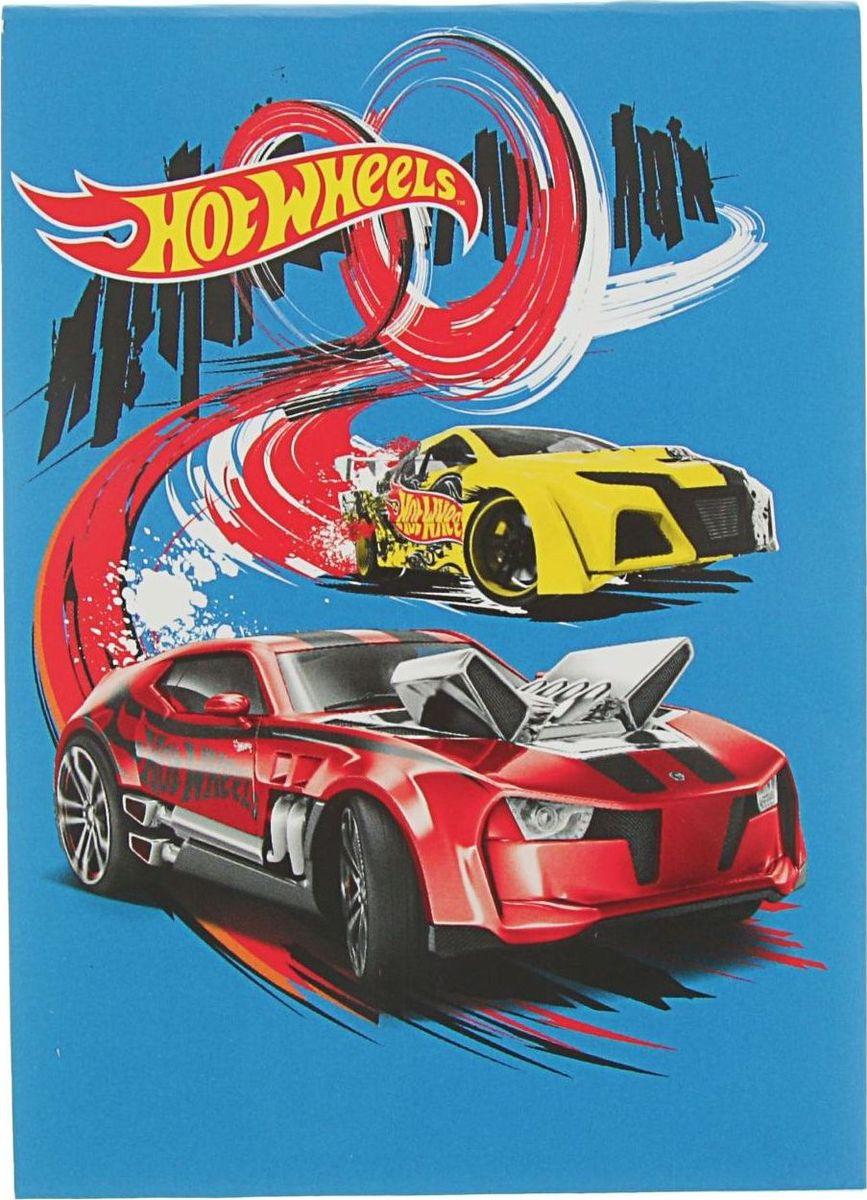 Mattel Блокнот Hot Wheels 80 листов в клетку2379144
