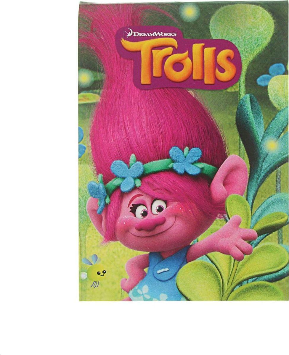 Trolls Блокнот 80 листов в клетку2379145