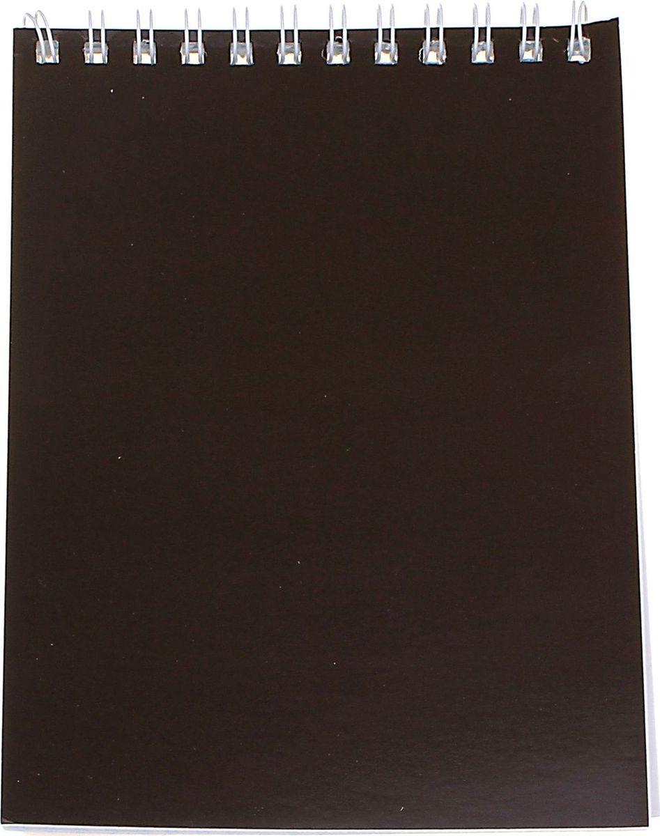 ПЗБФ Блокнот Корпоративный 40 листов цвет коричневый