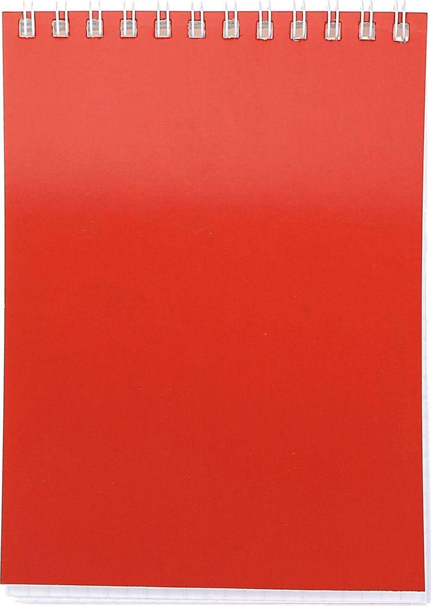 ПЗБФ Блокнот Корпоративный 40 листов цвет красный
