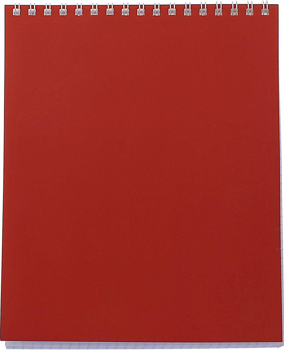 ПЗБФ Блокнот Корпоративный 40 листов цвет красный 649906649906