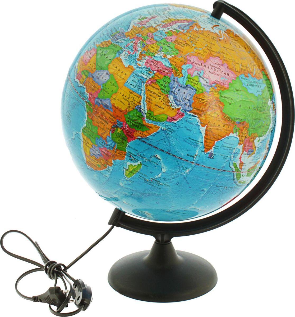Глобусный мир Глобус политический с подсветкой диаметр 30 см 1065222