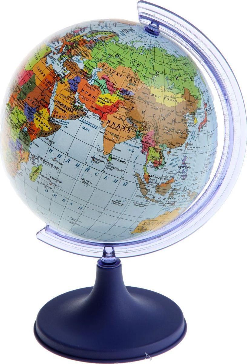Glowala Глобус политический диаметр 11 см1258793Глобус для всех, глобус каждому! Глобус — самый простой способ привить ребенку любовь к географии. Он является отличным наглядным примером, который способен в игровой доступной и понятной форме объяснить понятия о планете Земля. Также интерес к глобусам проявляют не только детки, но и взрослые. Для многих уменьшенная копия планеты заменяет атлас мира из-за своей доступности и универсальности. Умный подарок! Кому принято дарить глобусы? Всем! Глобус политический диаметр 110мм — это уменьшенная копия земного шара, в которой каждый найдет для себя что-то свое. путешественники и заядлые туристы смогут отмечать с помощью стикеров те места, в которых побывали или собираются их посетить деловые и успешные люди оценят такой подарок по достоинству, потому что глобус ассоциируется со статусом и властью преподаватели, ученые, студенты или просто неординарные личности также найдут для глобуса достойное место в своем доме. Итак, спешите заказать настольные...