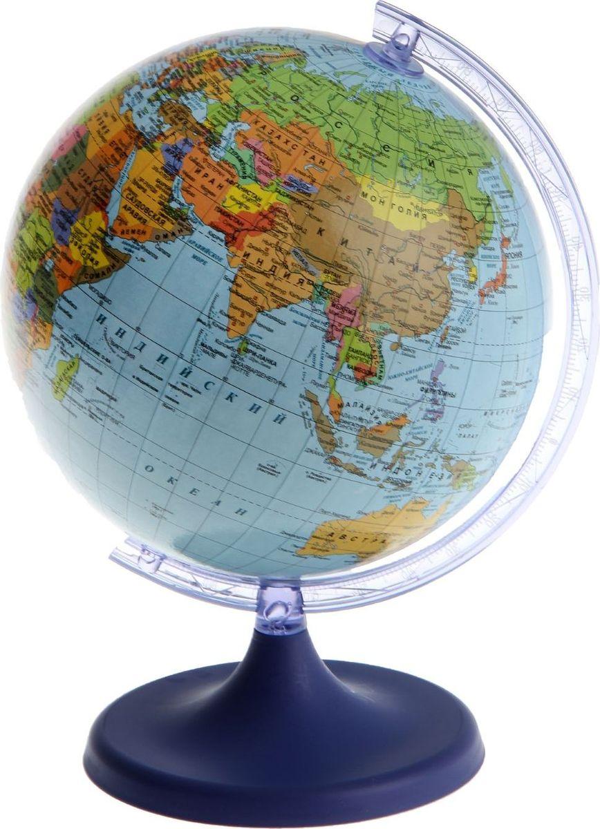 Glowala Глобус политический диаметр 16 см1258796Глобус для всех, глобус каждому! Глобус — самый простой способ привить ребенку любовь к географии. Он является отличным наглядным примером, который способен в игровой доступной и понятной форме объяснить понятия о планете Земля. Также интерес к глобусам проявляют не только детки, но и взрослые. Для многих уменьшенная копия планеты заменяет атлас мира из-за своей доступности и универсальности. Умный подарок! Кому принято дарить глобусы? Всем! Глобус политический диаметр 160мм — это уменьшенная копия земного шара, в которой каждый найдет для себя что-то свое. путешественники и заядлые туристы смогут отмечать с помощью стикеров те места, в которых побывали или собираются их посетить деловые и успешные люди оценят такой подарок по достоинству, потому что глобус ассоциируется со статусом и властью преподаватели, ученые, студенты или просто неординарные личности также найдут для глобуса достойное место в своем доме. Итак, спешите заказать настольные...