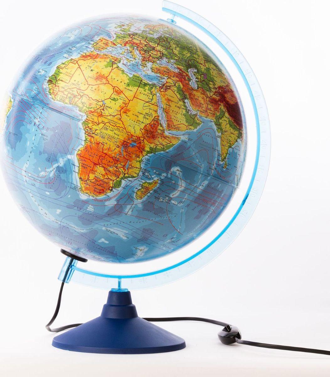 Глобен Глобус физико-политический Классик Евро с подсветкой диаметр 32 см 1259362