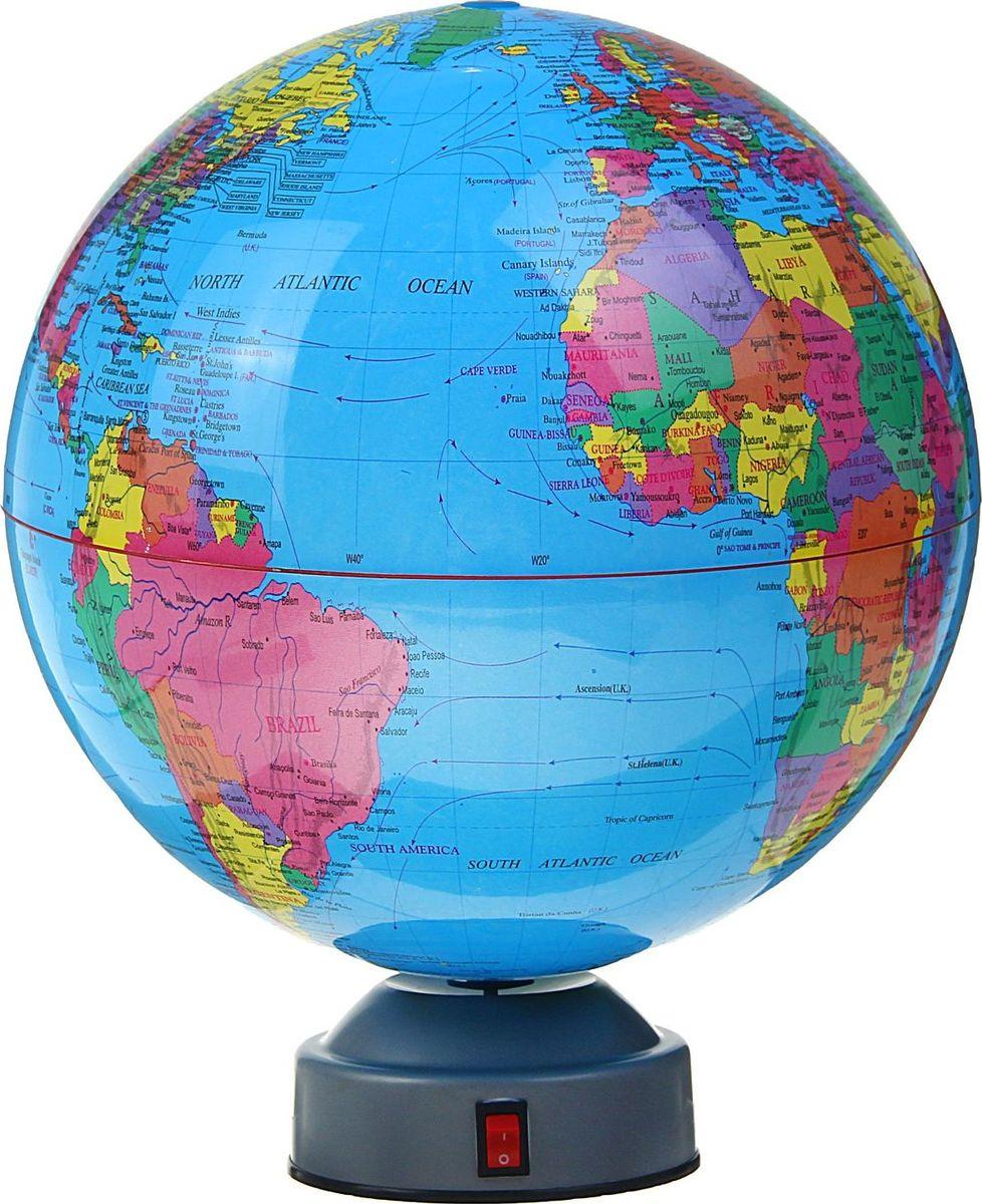 Глобус на английском языке диаметр 20 см 1367018 глобус политическая карта на английском языке диаметр 33 см