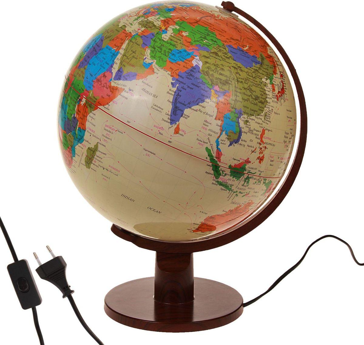 Глобус Политическая карта на английском языке диаметр 32 см глобус политическая карта на английском языке диаметр 33 см
