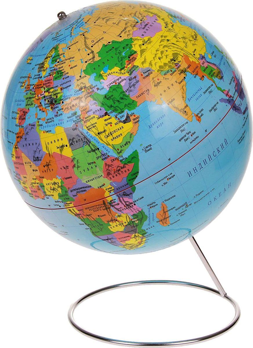 Глобус Политическая карта диаметр 25 см глобус политическая карта на английском языке диаметр 33 см