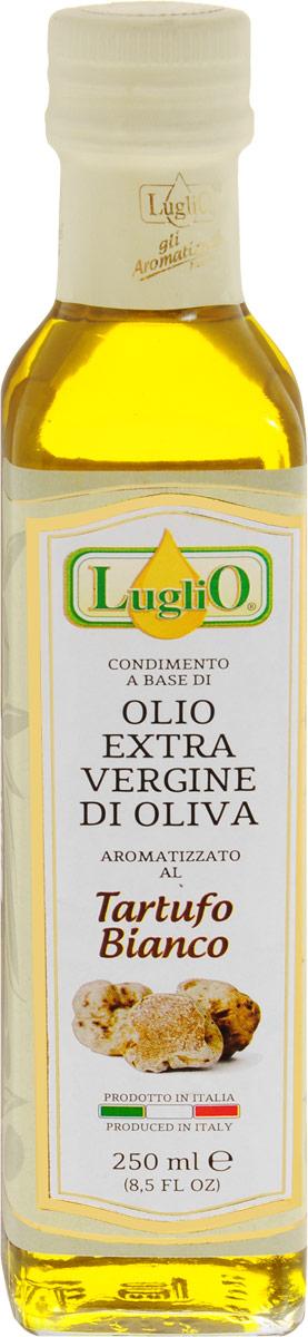 Luglio Оливковое масло ароматизированное белым трюфелем первый отжим, 250 мл8018440003156Оливковое масло первого холодного отжима Luglio, ароматизированное белым трюфелем. Ведущими производителями итальянского оливкового масла, общепризнано считаются области Апулия, Калабрия, Кампания и остров Сицилия. Именно в Апулии (г. Terlizzi, провинция г. Бари) находится производство торговой марки Luglio, где производят, по мнению экспертов, одно из лучших оливковых масел Средиземноморья. Одной из отличительных особенностей масла Luglio является отсутствие характерного привкуса горечи, присущего, например, большинству испанских сортов масла. Это объясняется уникальностью климатической зоны юга Италии, где находятся основные плантации оливковых деревьев. Плоды именно этих плантаций создают тонкий, изысканный аромат оливкового масла.
