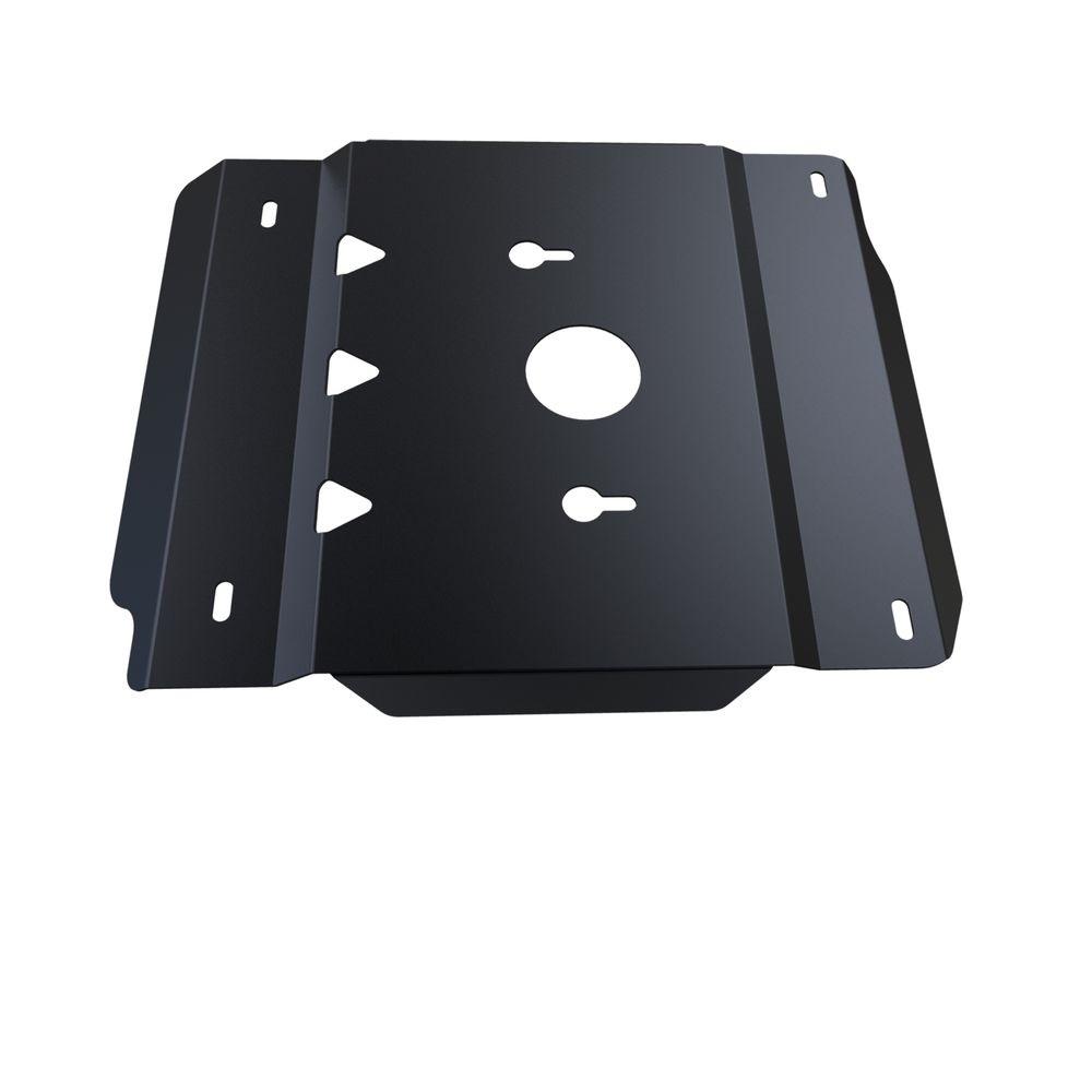 Защита КПП и РК Автоброня, для UAZ Hunter V-все, (2009-)222.06304.1Технологически совершенный продукт за невысокую стоимость. Защита разработана с учетом особенностей днища автомобиля, что позволяет сохранить дорожный просвет с минимальным изменением. Защита устанавливается в штатные места кузова автомобиля. Глубокий штамп обеспечивает до двух раз больше жесткости в сравнении с обычной защитой той же толщины. Проштампованные ребра жесткости препятствуют деформации защиты при ударах. Тепловой зазор и вентиляционные отверстия обеспечивают сохранение температурного режима двигателя в норме. Скрытый крепеж предотвращает срыв крепежных элементов при наезде на препятствие. Шумопоглощающие резиновые элементы обеспечивают комфортную езду без вибраций и скрежета металла, а съемные лючки для слива масла и замены фильтра - экономию средств и время. Конструкция изделия не влияет на пассивную безопасность автомобиля (при ударе защита не воздействует на деформационные зоны кузова). Со штатным крепежом. В комплекте инструкция по установке....