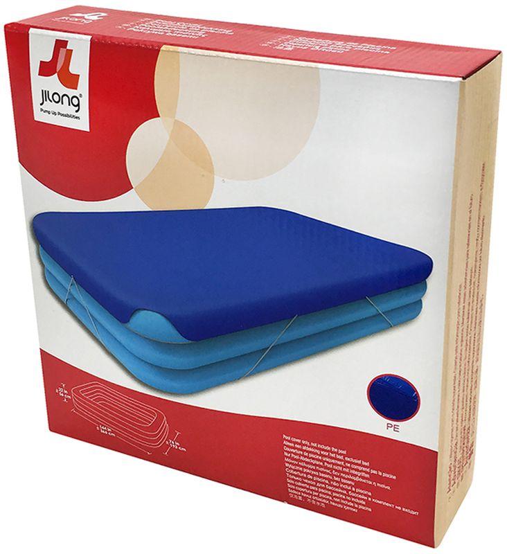 Чехол для бассейна Jilong Giant, цвет: синий, 305 х 183 х 50 см57010Чехол для бассейнов GIANT POOL COVER - Для бассейнов GIANT размером 305x183x50см - Прочный материал - 1 штука в упаковке - Цвет: голубой Артикул:57010 Упаковка:коробка Размер упаковки: 25х25х6,5 см Вес: 0,620 кг Компания JILONG это широкий выбор продукции высокого качества и отличный выбор для отдыха на природе.