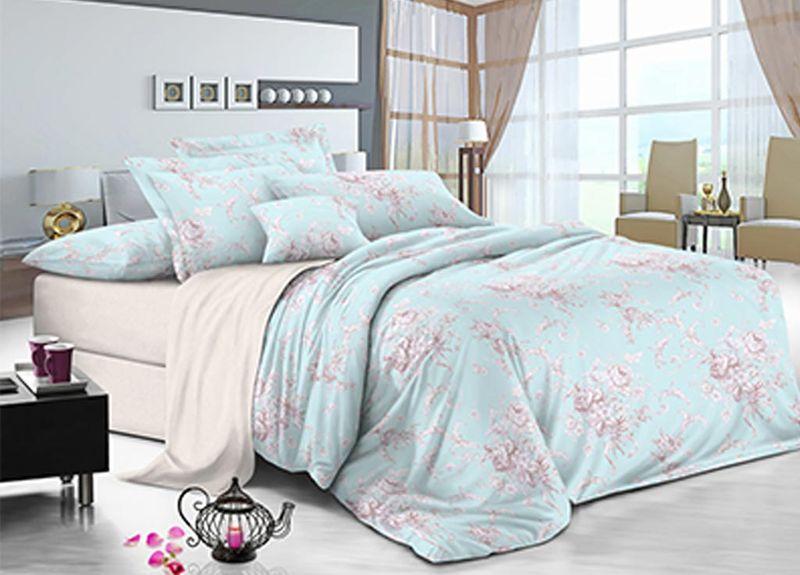 Комплект белья Primavera Небеса, семейный, наволочки 70x7088977